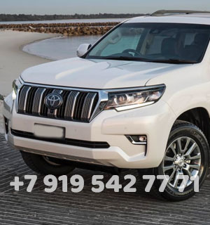Свадебный Toyota Land Cruiser Prado